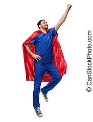 superhero, マレ, ∥あるいは∥, 看護婦, 岬, 医者, 飛行