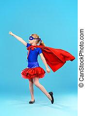 superhero, 遊び