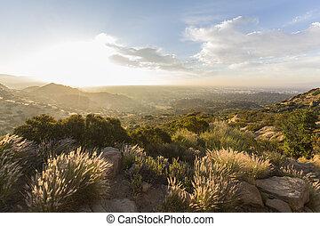 susana, 公園, アンジェルという名前の人たち, los, 州, 歴史的, santa, パス, 日の出