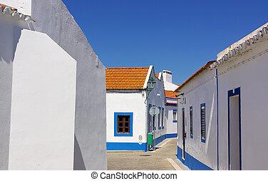 susana, 通り, santa, village.