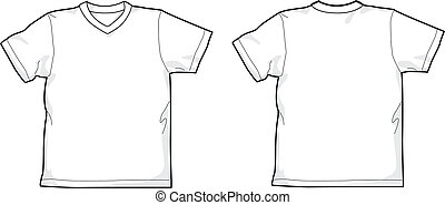 tシャツ, v. 首