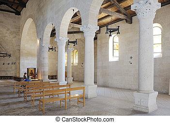 tabgha, 内部, 教会