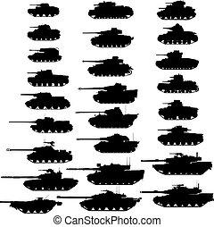 tanks.