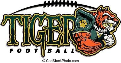 tiger, フットボール
