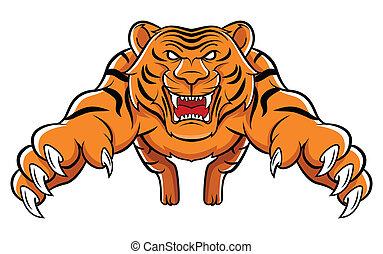 tiger, 攻撃