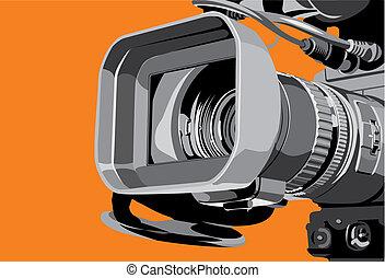 tvカメラ, スタジオ