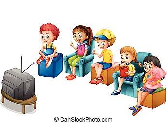 tv の 監視