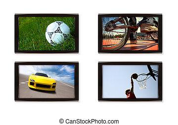 tv, スポーツ