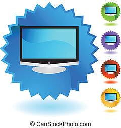 tv, 平らなスクリーン