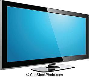 tv, 血しょう, lcd