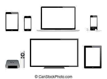 tv, iphone, mac, アップル, ipad, ipod