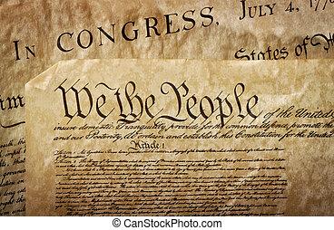 u.。s.。, クローズアップ, 憲法