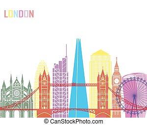 v2, ロンドン, スカイライン, ポンとはじけなさい