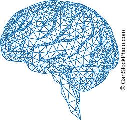 vecto, 脳, 幾何学的な パターン