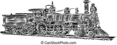 vector-old, 機関車