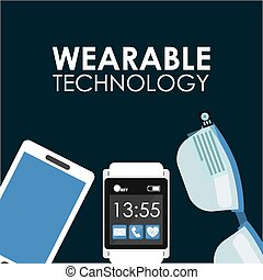 wearable, 技術
