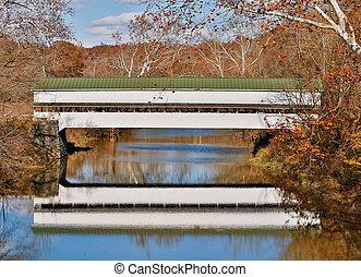 westport, 覆われた 橋