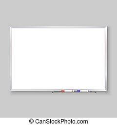 whiteboard, 空
