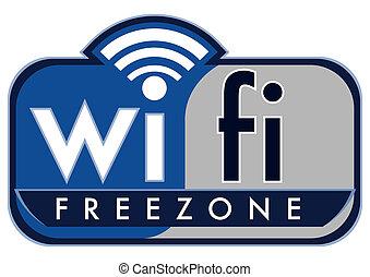 wifi, 無料で, 地域
