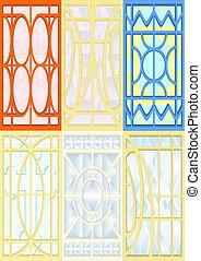 windows., ステンドグラス