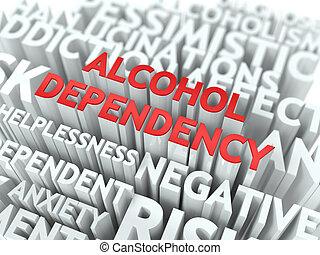 wordcloud, dependency., concept., アルコール