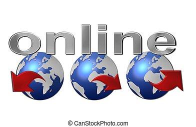 worldwide web, オンラインで